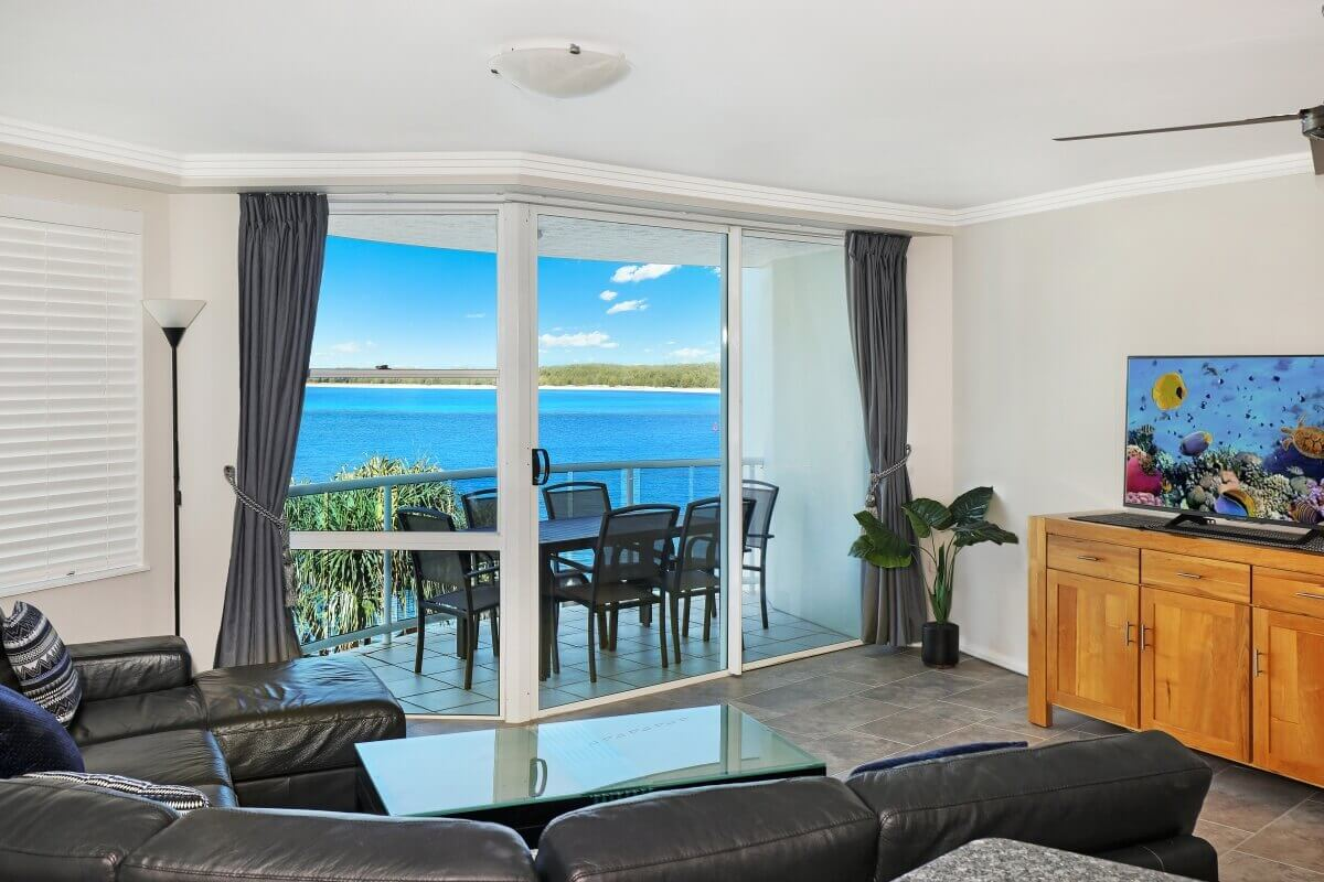Superior 3 Bedroom Apartment, A view from lounge (Apartment 27)