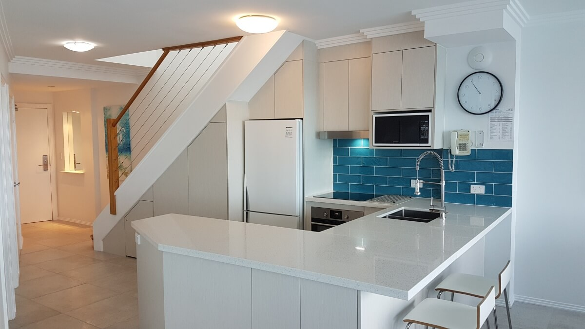 Penthouse 39, Refurbished kitchen
